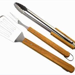 3pcs extra long grill tools set