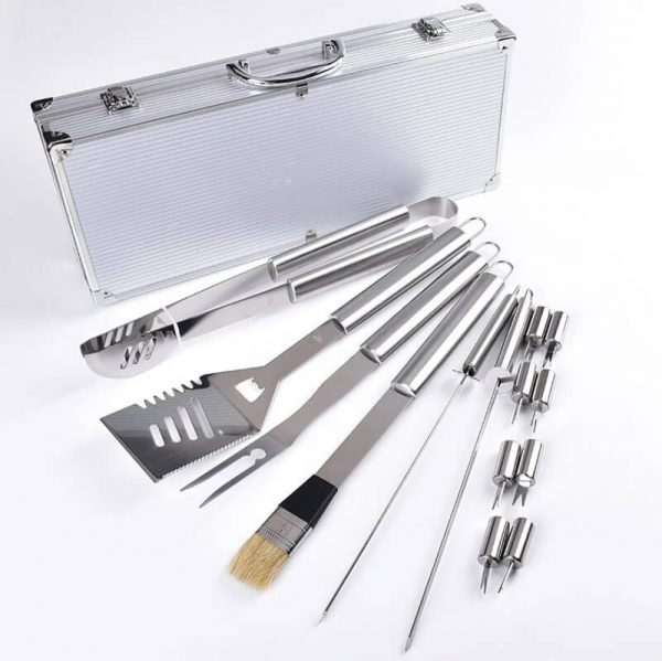 15pc Stainless steel nice grill tools set supplier