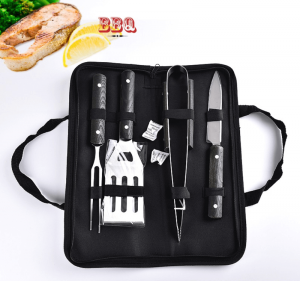 Customized grill set, Luxury bbq tools manufacturer