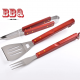 Portable grill bbq tools set lowest price factory