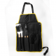 Outdoor personalized bbq grill apron gift set