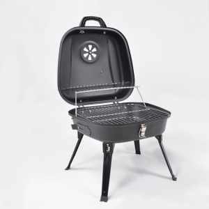 Four legs best small portable folding charcoal grill china supplier