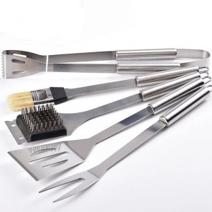 5 piece stainless steel bbq tool set amazon china supplier